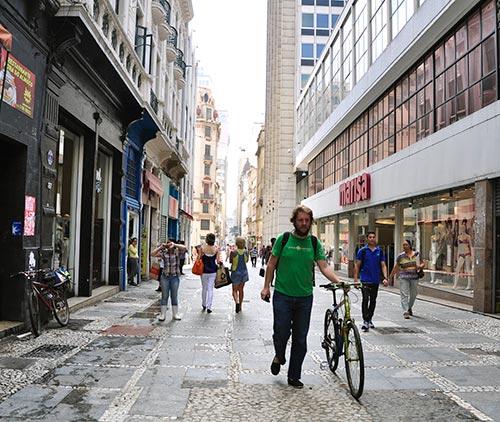 Mobilidade - bicicleta - São Paulo