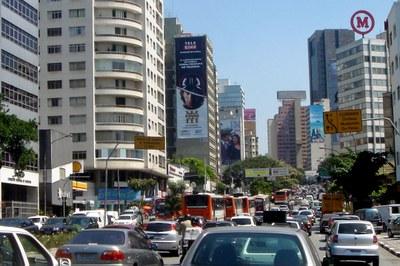 Mobilidade urbana e congestionamento