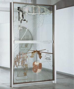 """O Grande Vidro"", de Marcel Duchamp"