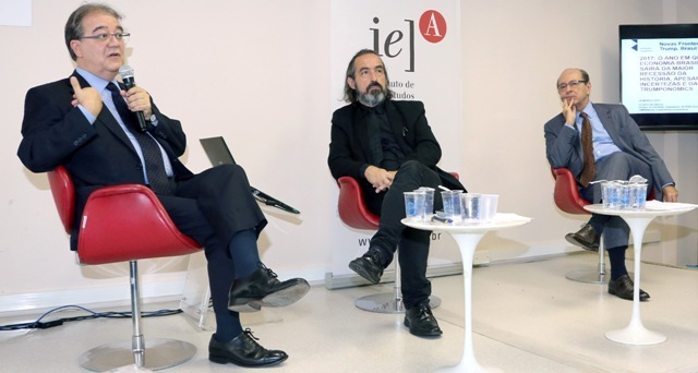 Octavio de Barros, Gilson Schwartz e Regis Arslanian 1