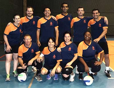 Os Invencíveis - equipe de vôlei do IEA