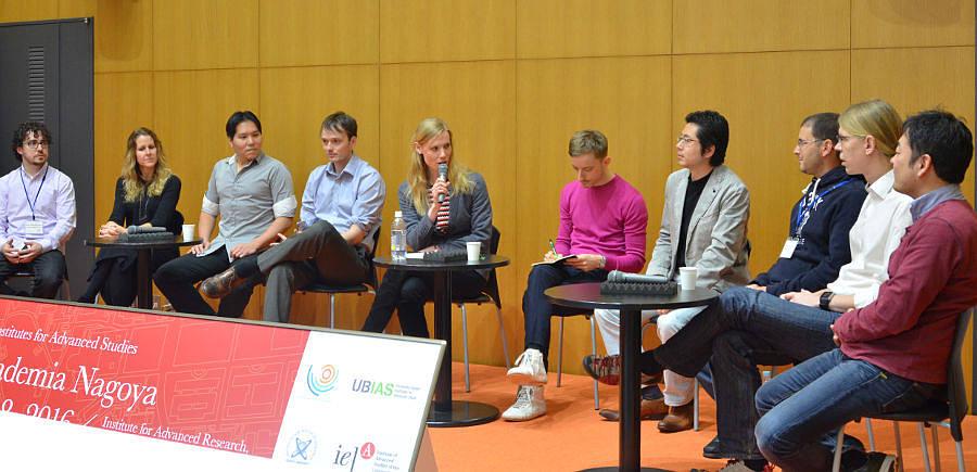 Painel de avaliação com os participantes da Intercontinental Academia