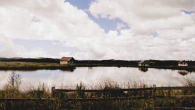 Paisagem no Rio Grande do Sul