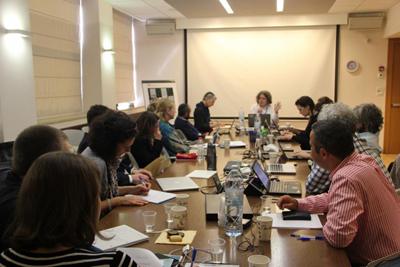 Participantes trabalhando na II Edição ICA Jerusalém