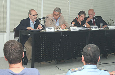 Sergio Adorno, Glauco Tavares, Maria Hermínia Tavares de Almeida e Leandro Piquet Carneiro