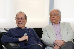Paulo Herkenhoff e Ricardo Ohtake