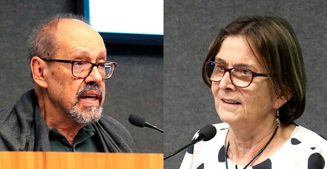 Paulo Herkenhoff e Helena Nader - 5/12/2019