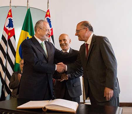Posse de José Renato Nalini como secretário da Educação