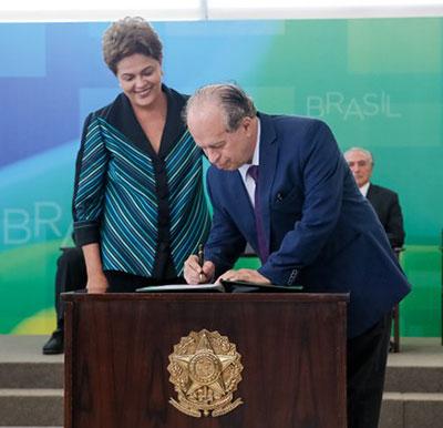 Posse de Renato Janine Ribeiro como ministro da Educação