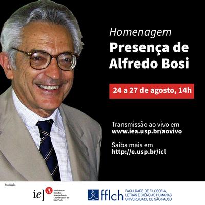 Presença de Alfredo Bosi