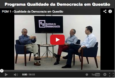 Programa Qualidade da Democracia em Questão