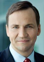 Radoslaw Sikorski, ministro das Relações Exteriores da Polônia