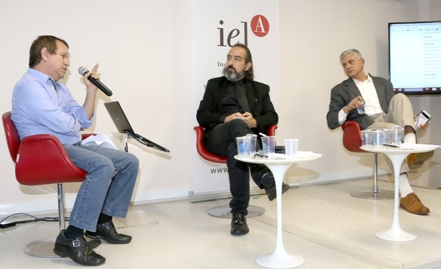 Rafael Duarte Villa, Gilson Schwartz e Alberto Pfeifer 1