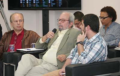 Renato Janine Ribeiro, Francisco César de Sá Barreto e Paulo Saldaña - Debate Processo Eleitoral na USP