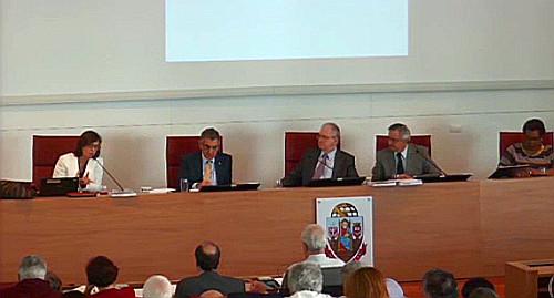 Reunião do Conselho Universitário em 8 de dezembro de 2015