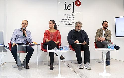 Rodolfo Fiori, Tatiana Cortese, Caio Vassão e Guilherme Calheiros - 22/8/2018