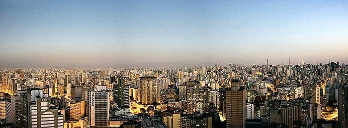 Panorâmica de São Paulo