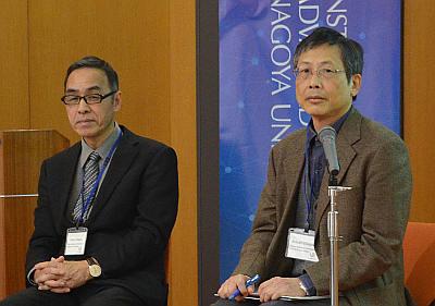 Satoro Kitago e Akitoshi Edagawa