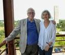 Sérgio Paulo Rouanet e Barbara Freitag no IEA em 2015