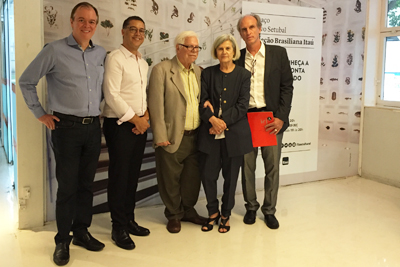 Sérgio Paulo Rouanet visita Itaú Cultural