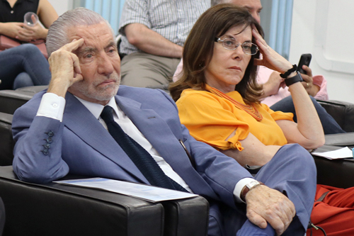 Silvano Raia e Mayana Zatz