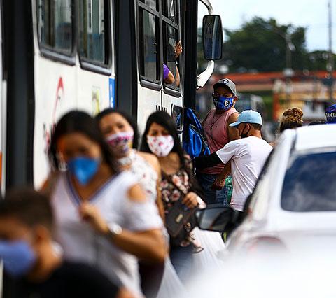Transporte público na pandemia