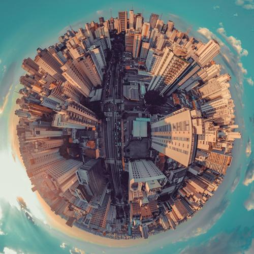 UrbanSus - Cidade vista do alto