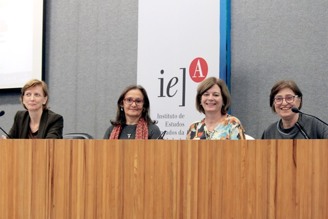 Vera Pallamin, Ana Fani Alessandri Carlos, Isabel Pinto Alvarez e Cibele Rizek