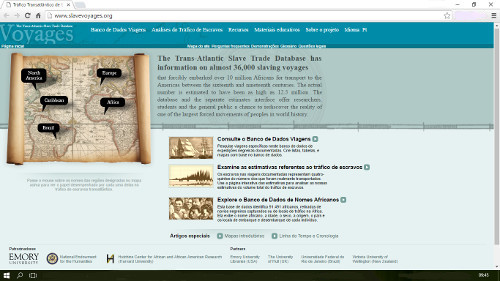 Voyages - The Trans-Atlantic Slave Trade Database