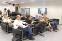 Pesquisadores que participaram da Reunião sobre as medidas a serem adotadas para mitigação do Covid-19 na USP