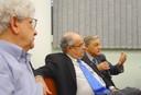 Adílson Avansi de Abreu Fala durante o evento