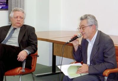 João Steiner e Alfredo Bosi