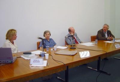 Nina Ranieri, Eunice Durham, Gerhard Malnic e João Steiner
