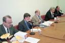 Carlos Eduardo Lins da Silva, José Augusto Guilhon Albuquerque, Ronaldo Mota Sardenberg, João Steiner e Jacques Marcovitch