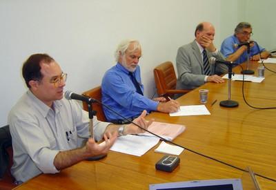 Américo Kerr, Cláudio de Moura e Castro, Gerhard Malnic e Ernest Hamburguer