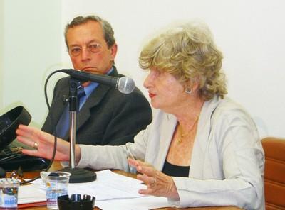 Adilson Avansi e Bertha Becker