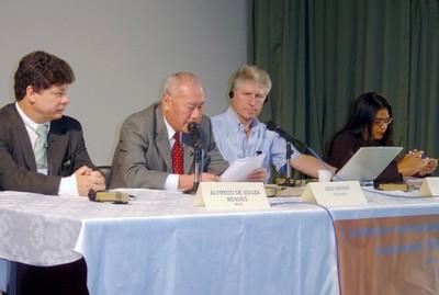 Alfredo de Souza Nunes, Sedi Hirano, John Rayn e Eliane Moreira
