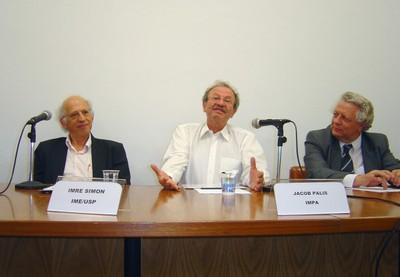Imre Simon, Jacob Palis e João Steiner