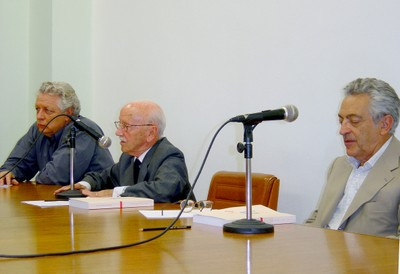 João Steiner, Hélio Bicudo e Alfredo Bosi