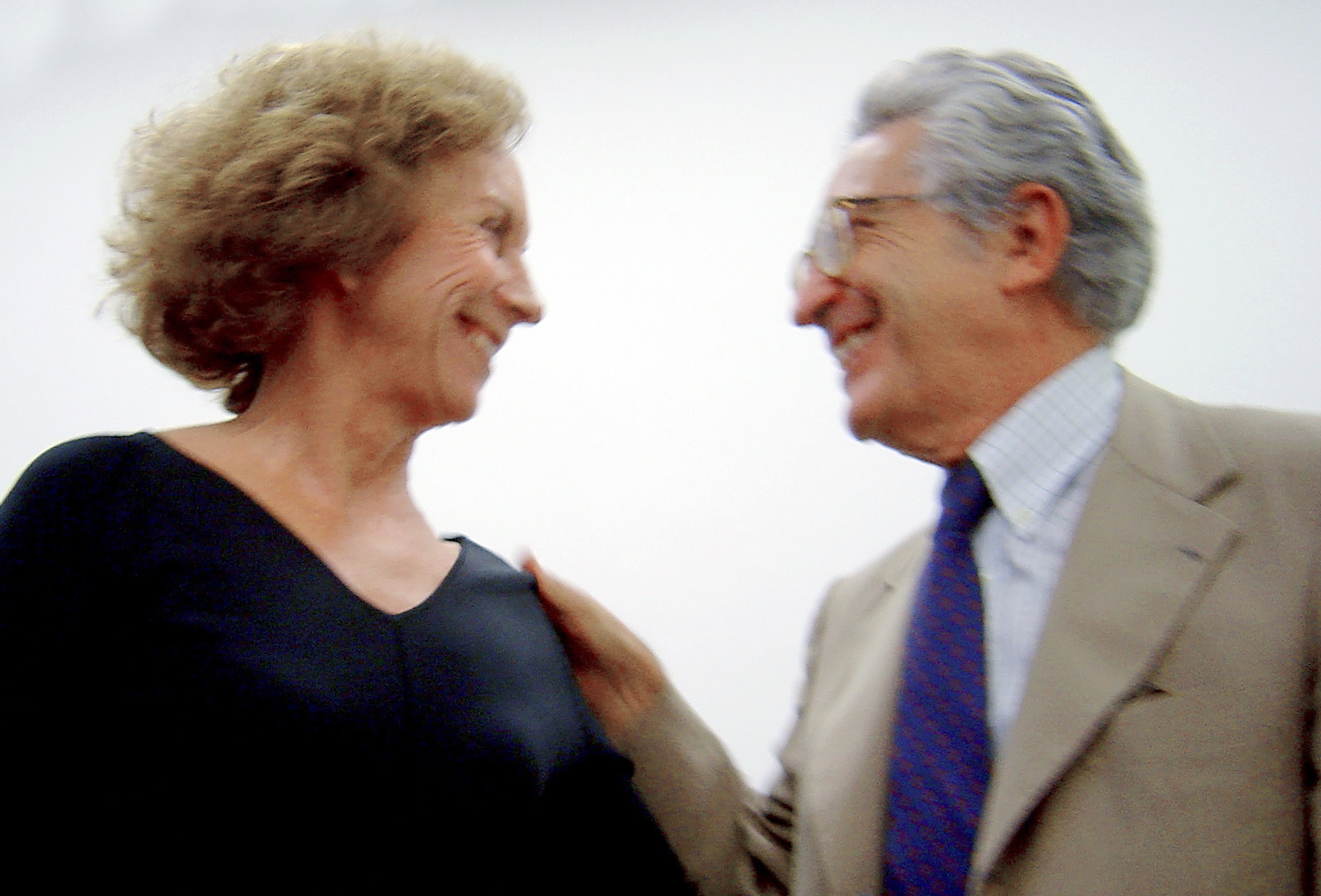 Dôra Guimarães e Alfredo Bosi