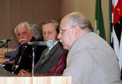 Adolpho José Melfi, Adilson Avansi e José de Souza Martins