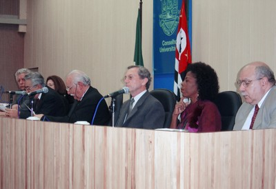 João Steiner, Nina Ranieri, Alfredo Bosi, Adolpho José Melfi, Adilson Avansi, Arany Santana e José de Souza Martins