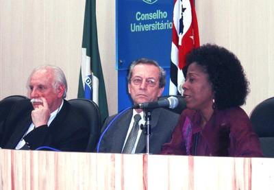 Adolpho José Melfi, Adilson Avansi e Arany Santana