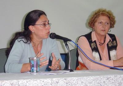 Sandra Maria Sawaya e Selma Pimenta Garrido