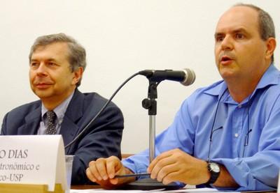 Guy Brasseur e Pedro Leite da Silva Dias