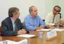 Guy Brasseur, Pedro Leite da Silva Dias e Luiz Gylvan Meira Filho