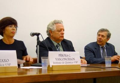 Pérola Vasconcellos, João Steiner e Guy Brasseur