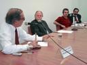 Luiz Gylvan Meira Filho, Jacques Marcovitch, Humberto Ribeiro Rocha e Marco Antonio Fujihara