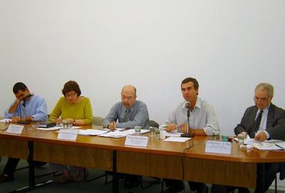Eduardo Cesar Leão Marques, Regina Meyer, Luiz Eduardo Soares, Bruno Paes Manso e Guilherme Leite da Silva Dias