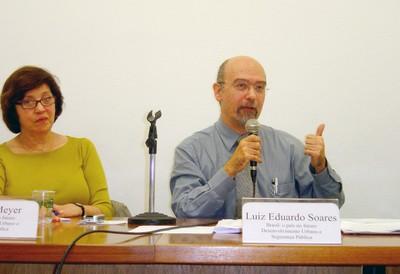 Regina Meyer e Luiz Eduardo Soares